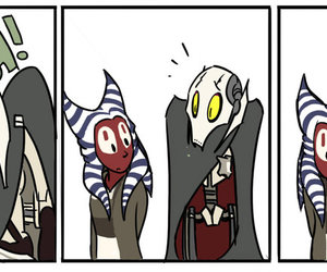 funny, general grievous, and Shaak Ti image