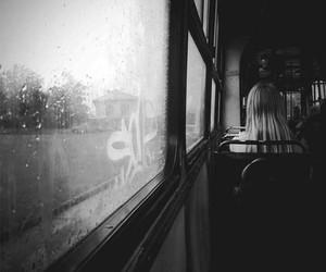 white, window, and black image
