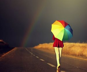 colorful, escape, and rainbow image