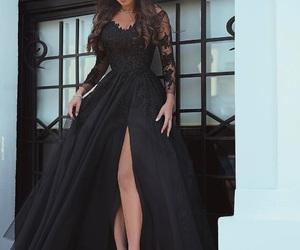 dress and black evening dresses image