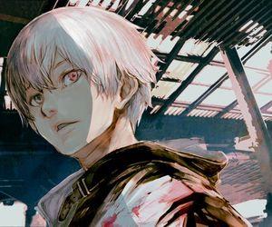tokyo ghoul, anime, and kaneki image