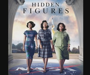 hidden figures, movie, and nasa image