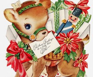 children, christmas greetings, and collectibles image