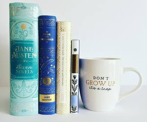 blue, books, and libros image