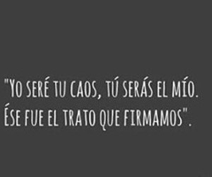amor, caos, and frases image