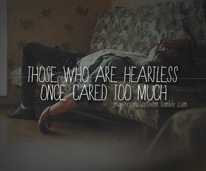 quote, sad, and broken heart image