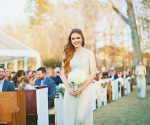holland roden, wedding, and teen wolf image