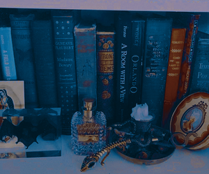 aesthetic, books, and theme image
