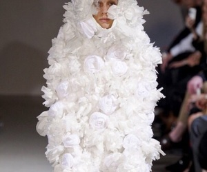 comme des garcons, fashion, and runway image
