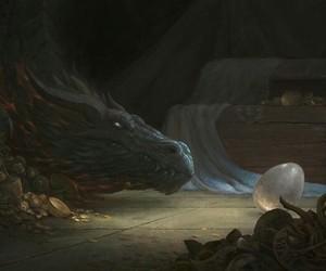 dragon, egg, and fantasy image