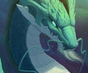 art, dragon, and fantasy image