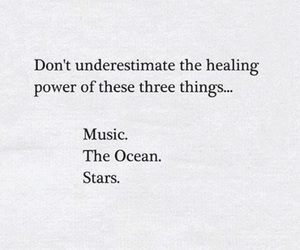 heal, music, and stars image