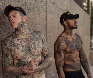 guys and Tattoos image