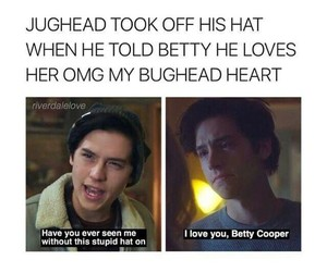 riverdale, bughead, and cole image
