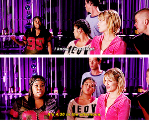 funny, mercedes jones, and glee image
