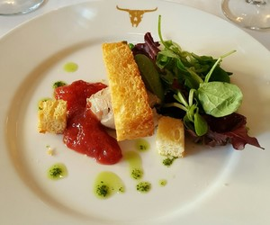 london, luxury, and steak image