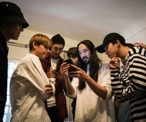 aoki and bts image