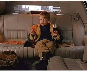 home alone, pizza, and gif image