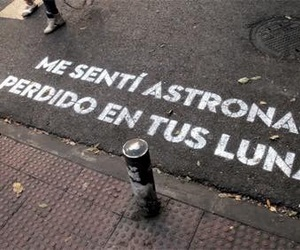 love, astronauta, and frases image