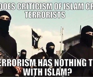 islam, terrorism, and criticism image