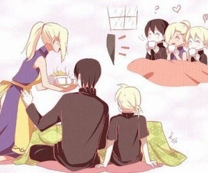 ino, sai, and anime image