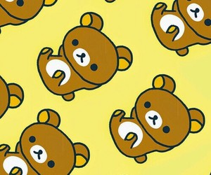 rilakkuma, wallpaper, and bear image