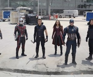 Marvel, captain america, and civil war image