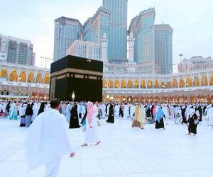 islam, allah, and mecca image