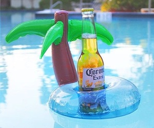 summer, beer, and float image
