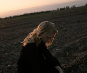 blonde, girl, and minimalist image