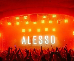 dj, festival, and alesso image