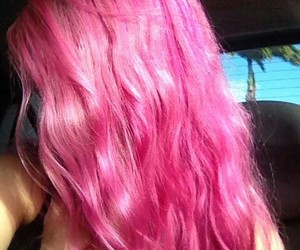 alternative, girl, and pink image