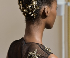 Alberta Ferretti, high fashion, and hair image