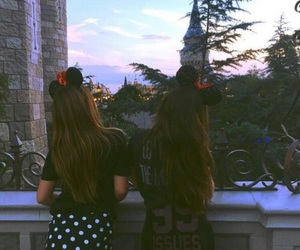 disney, girls, and friends image
