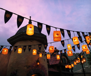 disney, disney world, and lanterns image