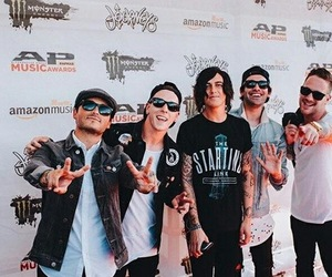 kellin quinn, band, and sleeping with sirens image