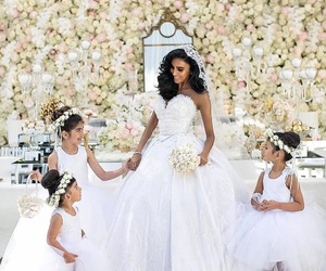 bride, ceremony, and marriage image