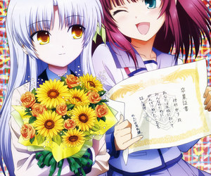 anime, angel beats, and anime girl image