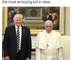 funny, school, and trump image