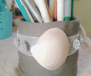 diy, shells, and do it yourself image