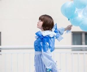 balloon, beautiful, and blue image
