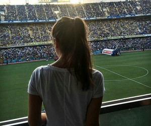 argentina, football, and girl image