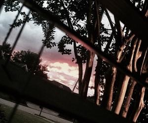 dark, sky, and window image