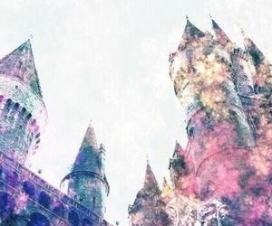 harry potter, hogwarts, and wallpaper image