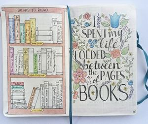 book, bullet journal, and ideas image