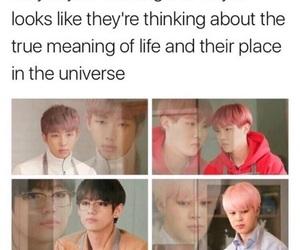 bts, kpop, and meme image