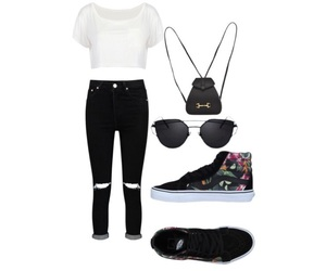 gucci, outfit, and Polyvore image