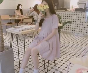 asian girl, ulzzang, and Corea image