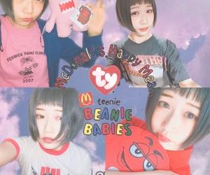 girl, kawaii, and サントニブンノイチ image