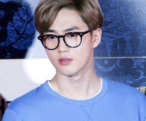 exo, idol, and junmyeon image